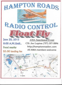 HRRC 2015 Float Fly