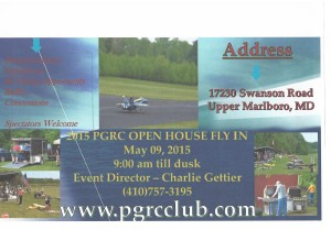 PGRC club Open House