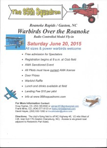 The 95th Squadron Warbirds Over the Roanoke