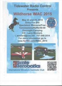 Wildhorse IMAC 2015 presented by Tidewater Radio Control