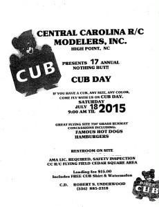 CCRC_cub day