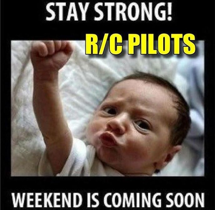 Have a great Weekend FF RC and CL flyers
