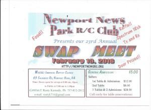 NNPRCC Swap Meet 2016