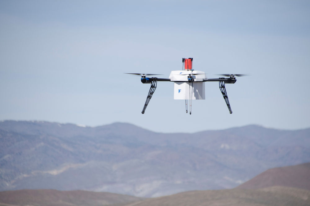 WE ARE RAPIDLY APPROACHING A TIME WHERE DRONE DELIVERY IS A REALITY