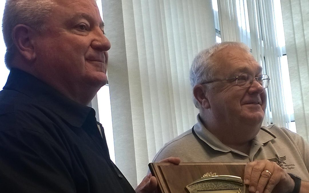 Rusty Kennedy Receives Distinguished Service Award