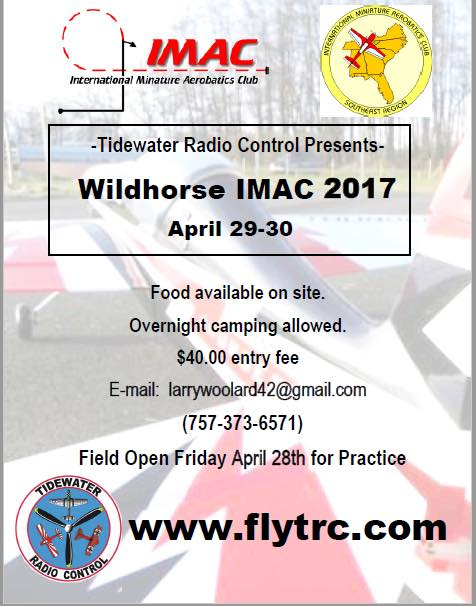 Tiderwater  RC IMAC event